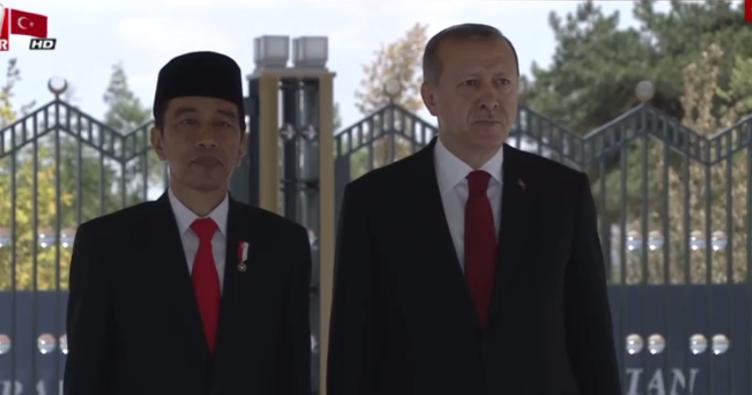 Endonezya Cumhurbaşkanı Ankara'da