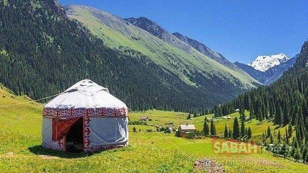 Kırgızistan'ın öne çıkan doğal güzellikleri.