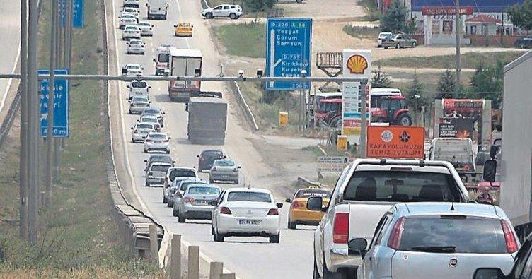 Kırıkkale Türkiye'nin ulaşım ağı merkezi