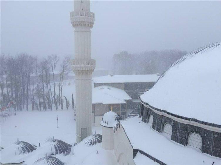 ABD'deki kar fırtınası hayatı olumsuz etkiliyor