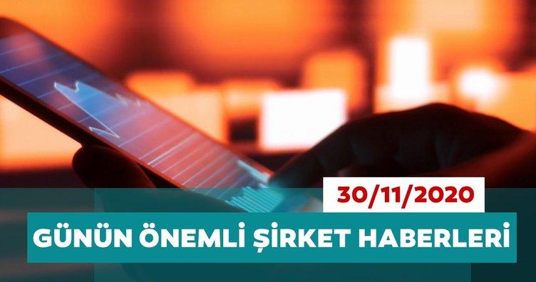 Borsa İstanbul'da günün öne çıkan şirket haberleri ve tavsiyeleri 30/11/2020