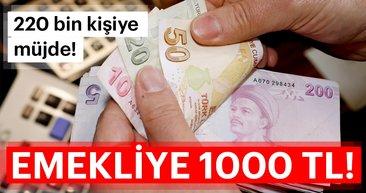 Emekliye en az 1000 TL alacak! - 2019 Emekli maaşları ne kadar olacak?