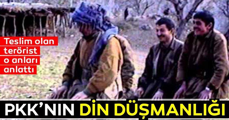 Teslim olan terörist, PKK'nın çirkin yüzünü anlattı