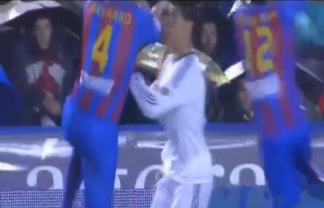 Ronaldo kanlar içinde kaldı