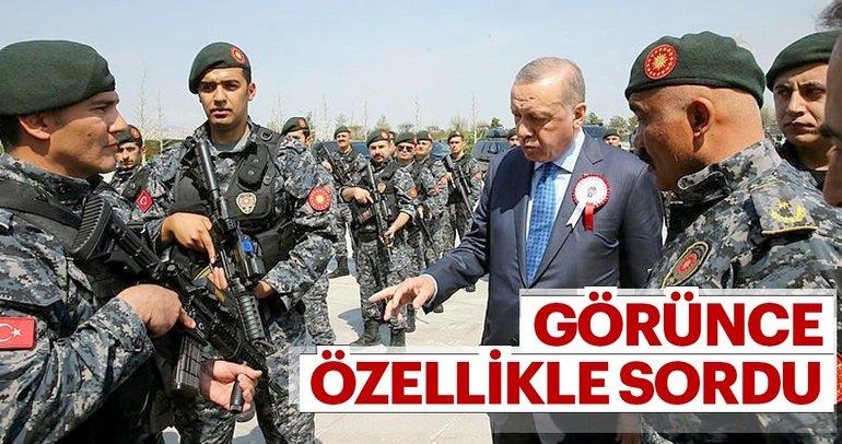 Erdoğan'dan Külliye'de anlamlı kabul