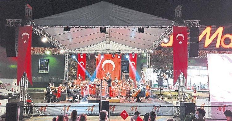 M1 Adana'da senfoni ateşi