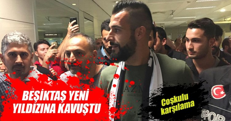 Negredo, İstanbul'a geldi.