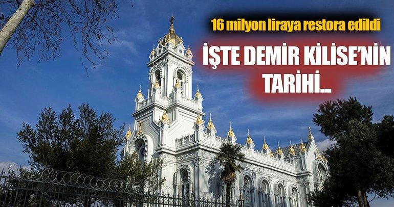 Balat'taki Sveti Stefan Kilisesi'nin (Demir Kilise) tarihi