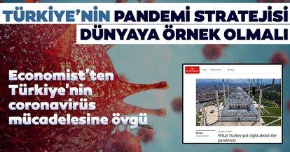 The Economist'ten Türkiye'nin pandemi sürecine övgü
