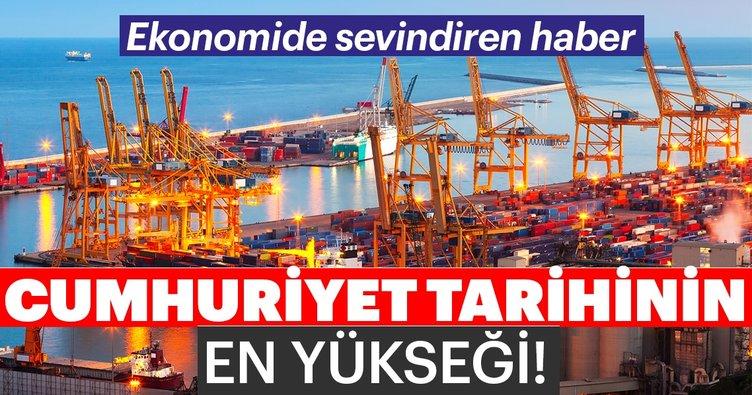 Son dakika! Ticaret Bakanı Ruhsar Pekcan: Cumhuriyet tarihinin en yüksek aylık ihracat rakamına ulaştık