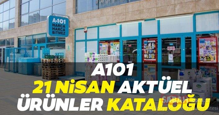 A101 21 Nisan 2020 aktüel ürünler kataloğu yayınlandı! A101 aktüel ürünler kataloğu TAM LİSTE BURADA...