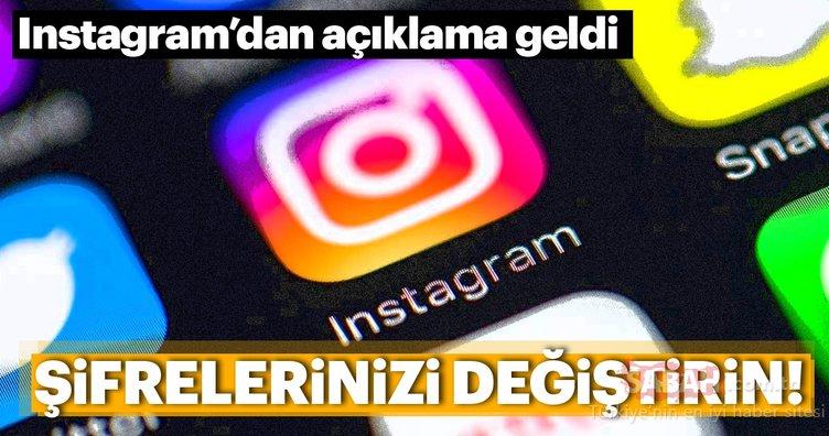 Instagram kullanıcıları dikkat! Şifreniz açığa çıkmış olabilir