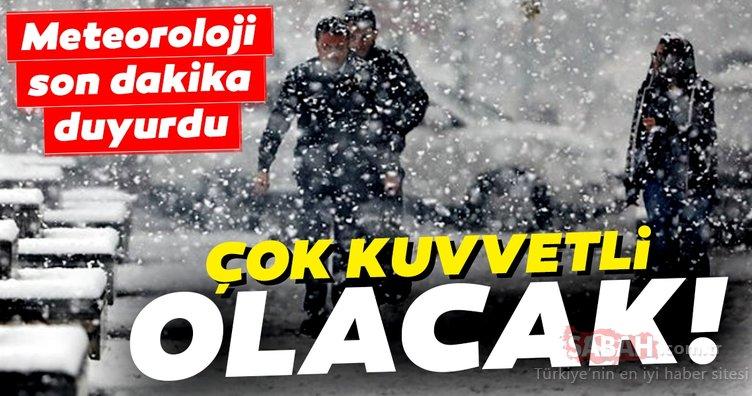 Son Dakika Haberi: Meteoroloji'den kar yağışı ve İstanbul hava durumu uyarısı! Kar ne zaman yağacak? İşte yanıtı...