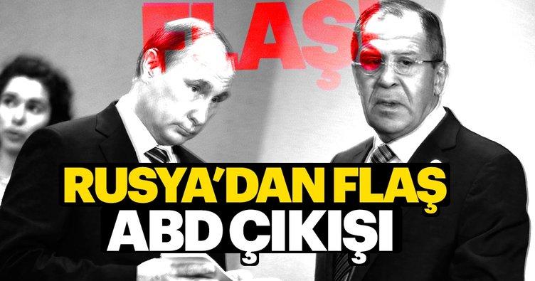 Rusya'dan flaş açıklama: ABD'nin girişimlerini biliyoruz