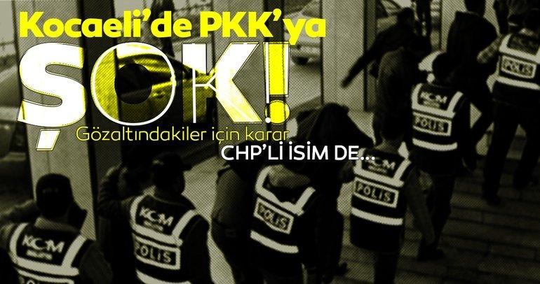 Kocaeli'de PKK/KCK operasyonunda gözaltına alınan 22 şüpheli adliyede