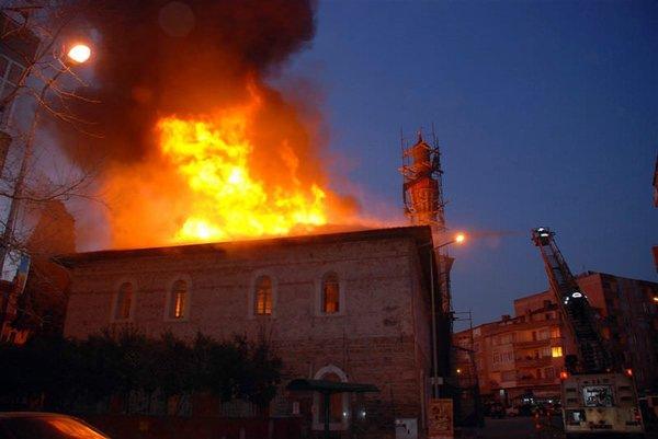 Tarihi  Ulu Camii küle döndü