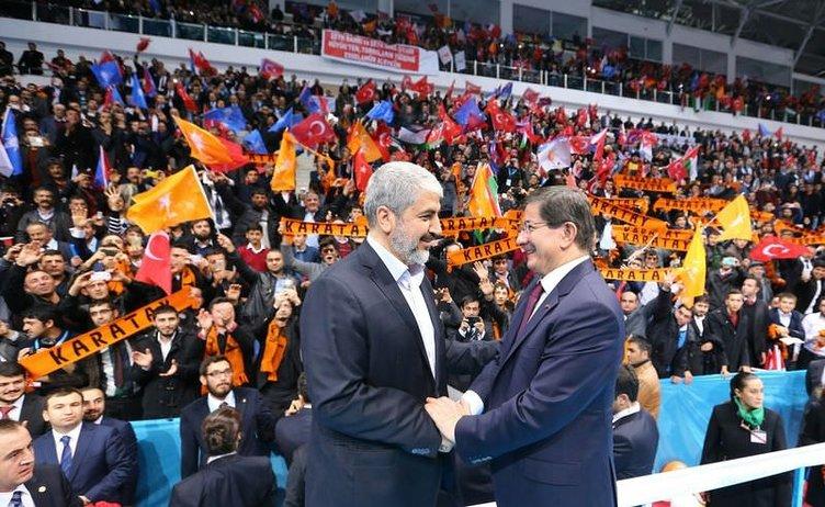Halid Meşal AK Parti kongresine katıldı