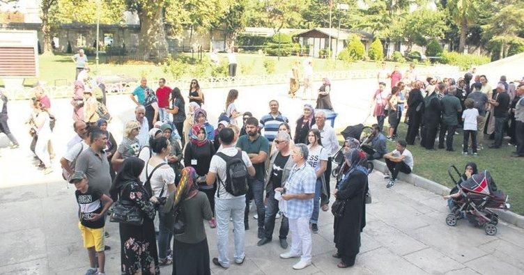 Şehit aileleri İstanbul'da