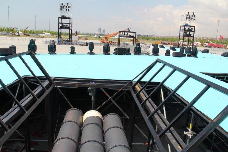 İstanbul tarihi güne hazır