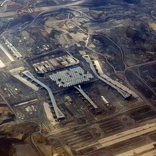 3. Havalimanı son hali uçaktan görüntülendi