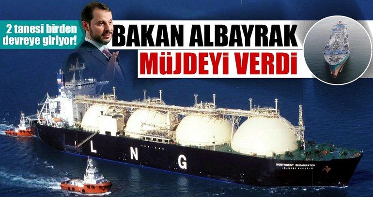 Son dakika: Bakan Albayrak'tan LNG müjdesi!