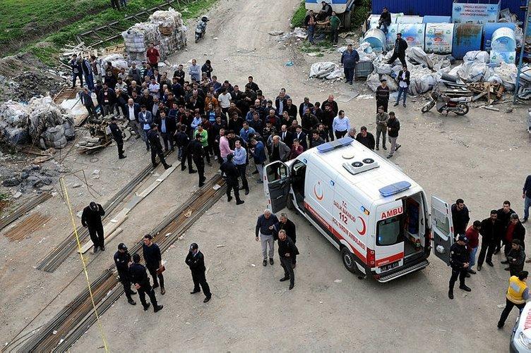 İnşaatta göçük meydana geldi: 2 ölü, 5 yaralı