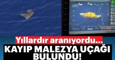 Son Dakika: Kayıp Malezya Uçağı MH370'in yerini gösterdi