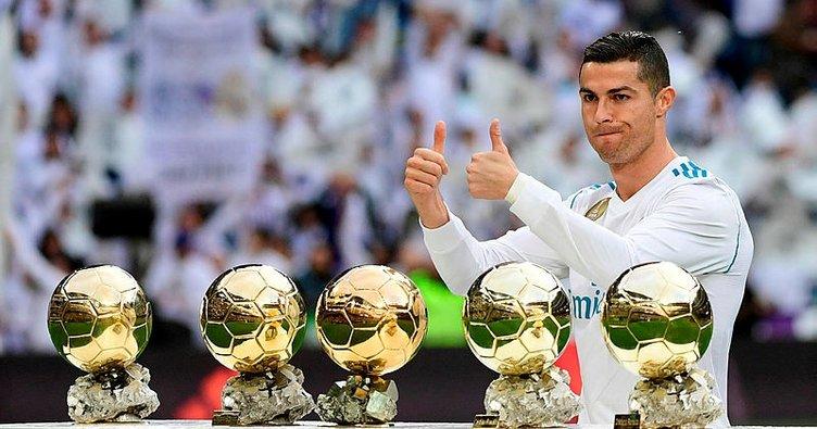 İşte Cristiano Ronaldo'nun Real Madrid'de 9 yılda yaptıkları