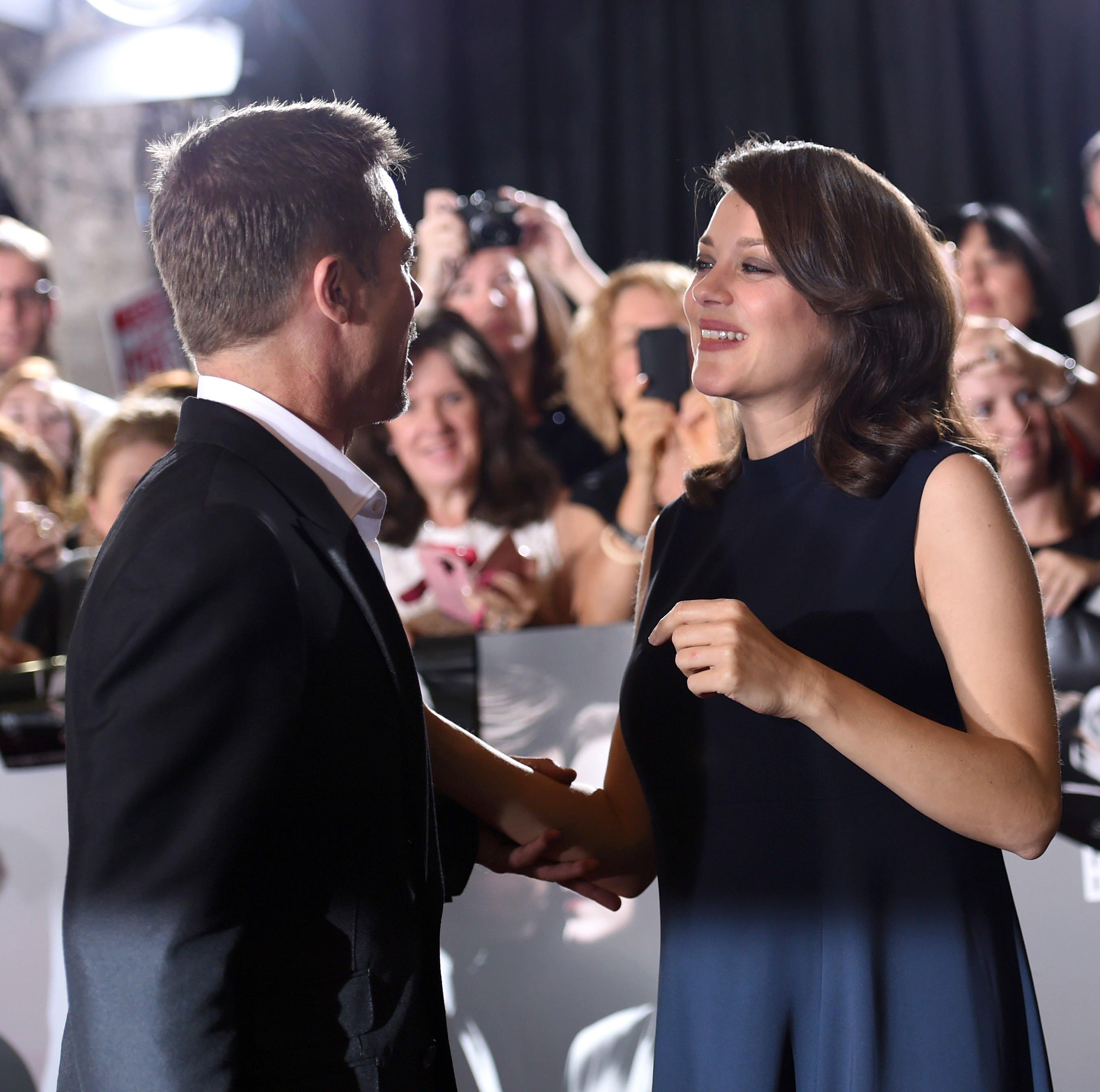 Aşk Yaşadıkları Iddia Edilen Brad Pitt Ve Marion Cotillard Ilk Kez