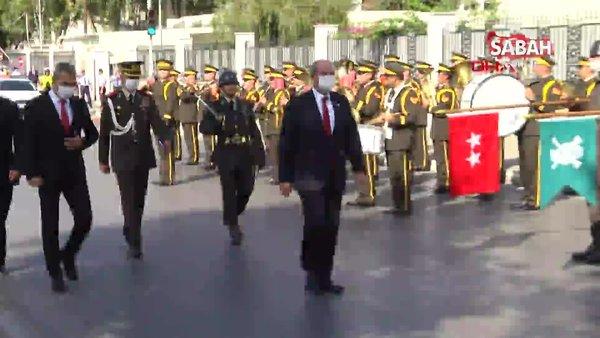 KKTC Cumhurbaşkanı Ersin Tatar, ant içerek görevine başladı | Video