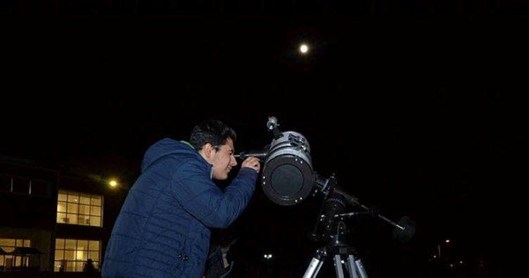 Astronomi topluluğundan gökyüzü gözlem şenliği