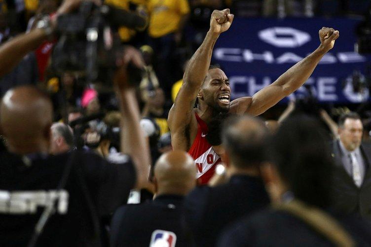 NBA'de şampiyon Toronto Raptors