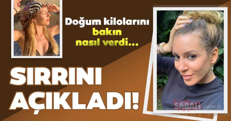 Fit anne Sinem Kobal doğum kilolarını nasıl verdi? Oyuncu Sinem Kobal'ın merak edilen zayıflama sırrı ortaya çıktı!
