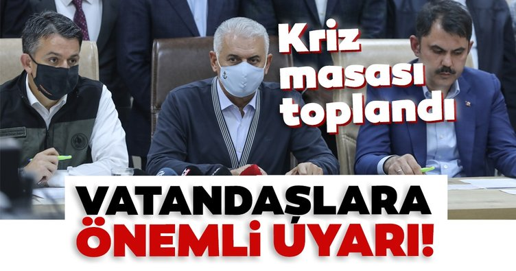 Son dakika: Bakanlar ve Binali Yıldırım'dan İzmir'de önemli açıklamalar
