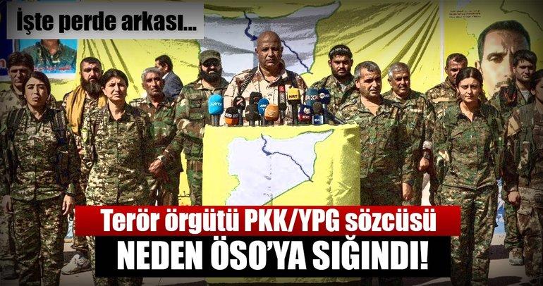 Terör örgütü PKK/YPGnin sözcüsü ÖSOya teslim oldu