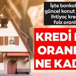 Kredi faiz oranlarında büyük indirim! Ziraat Bankası, Vakıfbank, Halkbank, konut - taşıt - ihtiyaç kredisi 2019 güncel faiz oranları ne kadar oldu?