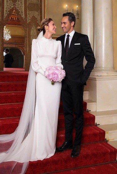 İki ay önce evlenen Demet Şener ve Cenk Küpeli…