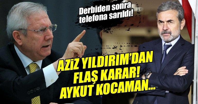 Fenerbahçe'de Aykut Kocaman'ın görevi tehlikede!