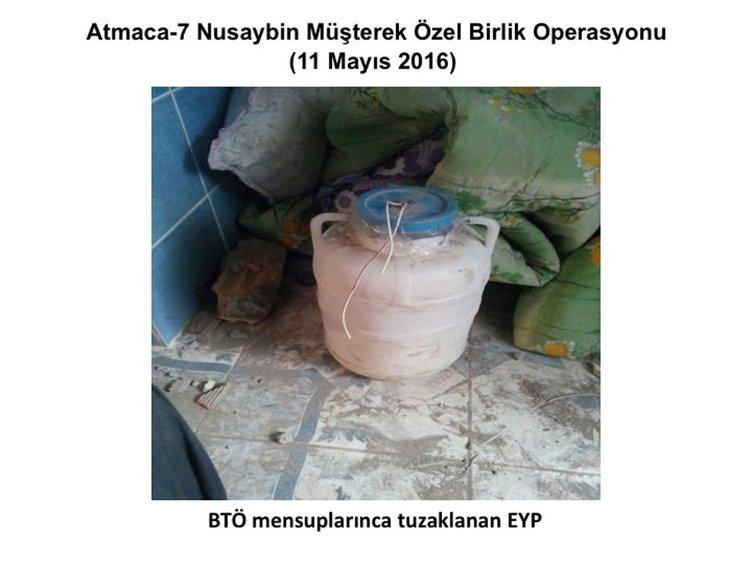 Nusaybin'de patlayıcılar tespit edilerek imha ediliyor