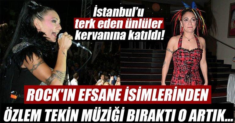 İstanbul'dan tasını tarağını toplayıp kaçan ünlüler...