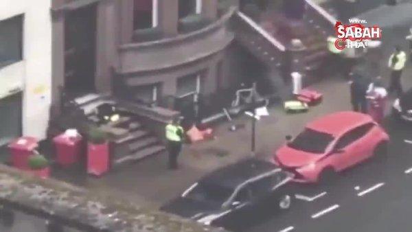 İskoçya'da bıçaklı saldırı: 3 ölü | Video