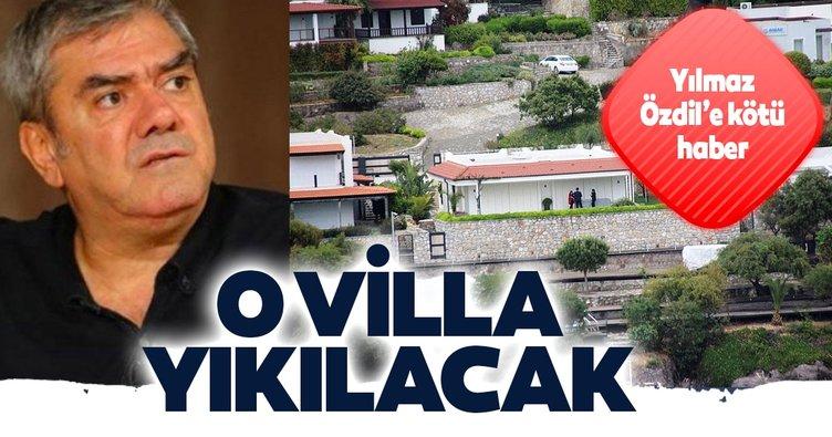 Yılmaz Özdil'e kötü haber: O villa yıkılacak