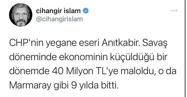 """CHP'nin yegane eseri Anıtkabir"""" diyen İstanbul Bağımsız Milletvekili Nazır Cihangir İslam CHP'de - Son Dakika Haberler"""