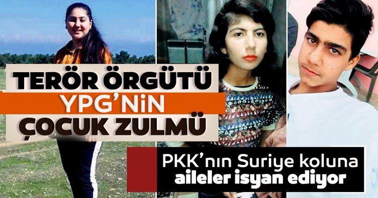 Terör örgütü YPG'nin çocuk zulmü! Yardım edin sadece çocuğumu istiyorum