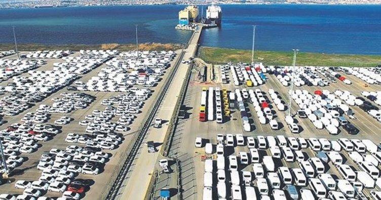 Avrupa toparlandı oto ihracatı % 61 arttı