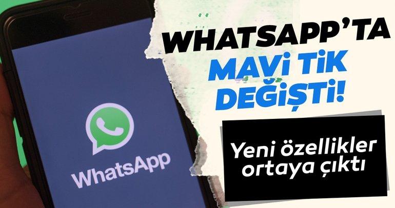 WhatsApp Android ve iOS beta sürümlerine yeni özellikler geldi! WhatsApp'ta mavi tik değişti