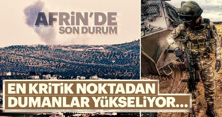 TSK'dan flaş Afrin açıklaması! İşte öldürülen terörist sayısı…