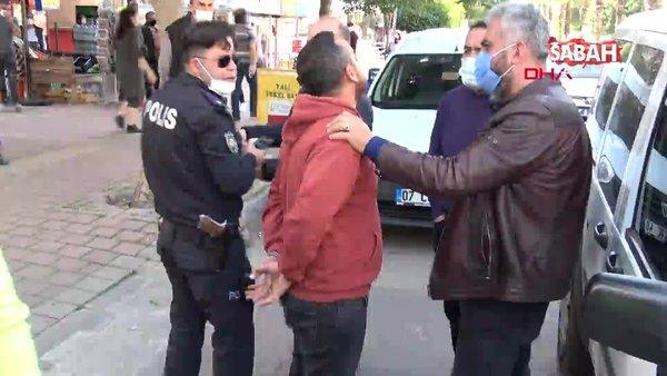 Antalya'da polisin 'dur' ihtarına uymadı, ateş edip kaçan şahıs böyle yakalandı   Video