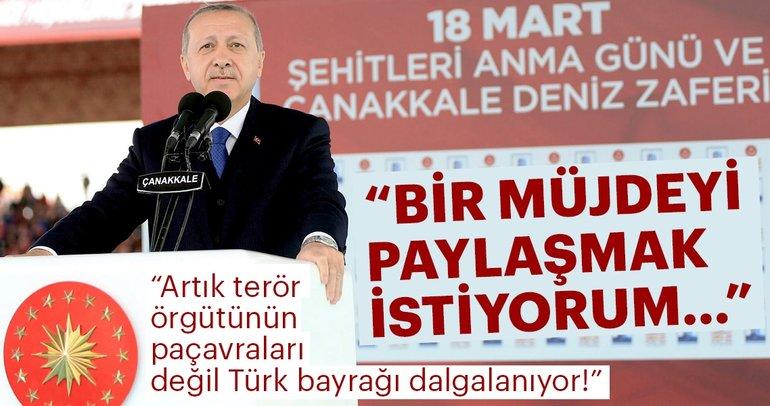 Son Dakika: Cumhurbaşkanı Erdoğan: Afrin şehir merkezinde kontrol sağlandı