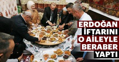 Erdoğan çifti, Sargın ailesinin evine misafir oldu